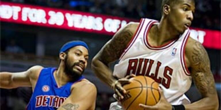 Erster Sieg für Chicago Bulls