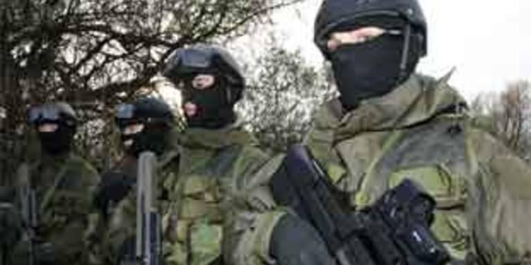 Soldaten des Jagdkommandos