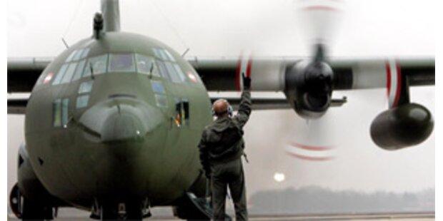 Bundesheerflug in den Tschad wurde gestrichen