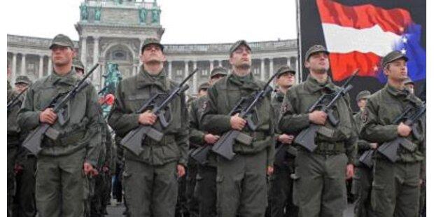 Heeresbudget steigt um 63 Millionen Euro
