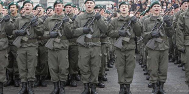 SPÖ und ÖVP wollen Wehrpflicht behalten