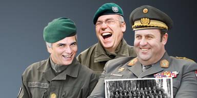 Welche Politiker beim Heer dienten