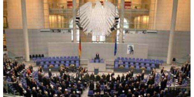 Deutscher Bundestag: Zugang eingeschränkt