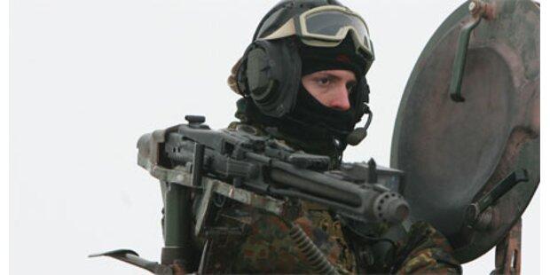 Deutsche Soldaten erschossen Zivilisten