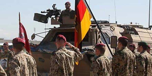 Taliban greifen deutsche Bundeswehr an
