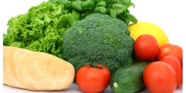 Buntes Essen hält gesund