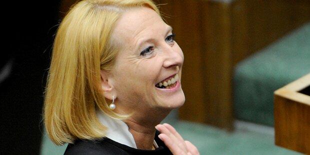 Nationalrat wählt Bures zur neuen Präsidentin