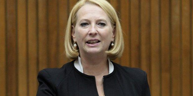 Doris Bures verspricht fairen Vorsitz