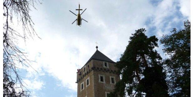 70-Jähriger erlitt Schlaganfall im Turm