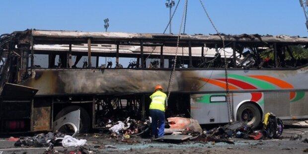 Burgas-Attentat: 3 Kilo TNT im Bus