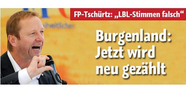 Burgenland: Jetzt wird neu ausgezählt