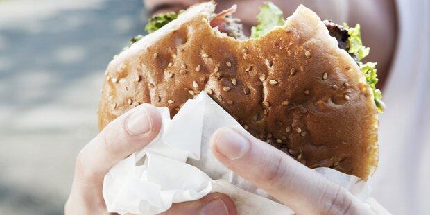 Raubüberfall wegen Burger