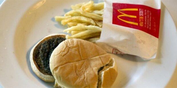 Sechs Monate alter Burger schimmelt nicht