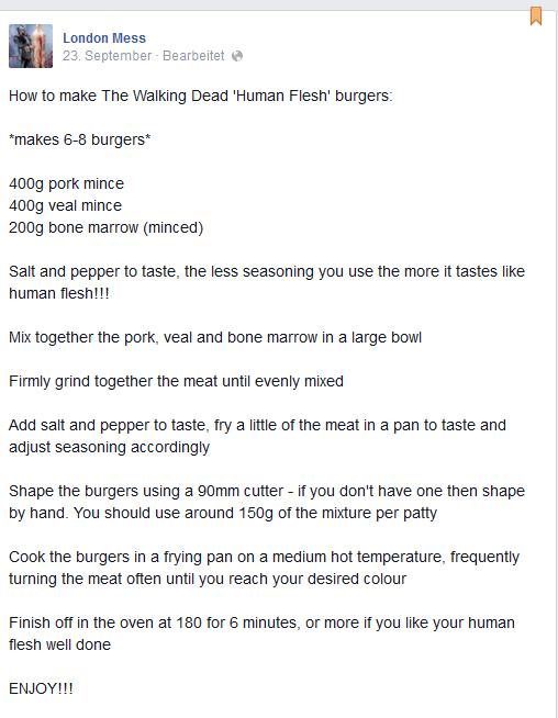menschenfleisch burger