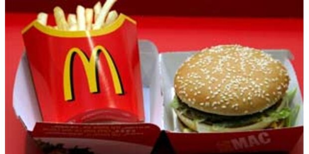 Strafe für langsames Essen bei McDonalds