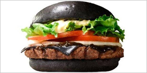 Burger King plant schwarzen Burger