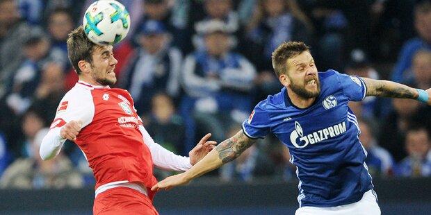 Burgstaller führt Schalke zu Heimsieg