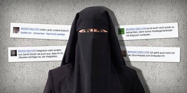 oe24-User fordern Burka-Verbot!
