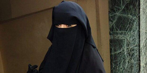 Burka-Träger in Frankreich verurteilt