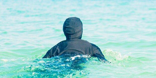 Muslimin in Burkini darf nicht in Swimmingpool