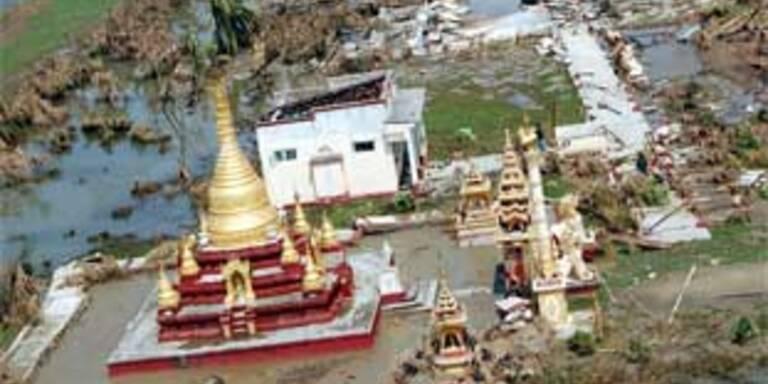 Seuchengefahr in Burma wächst