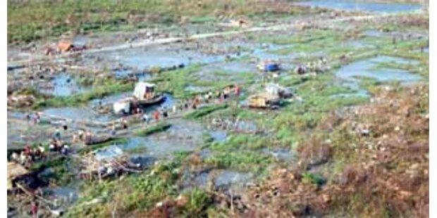 Regenfälle verschlimmern Lage in Burma