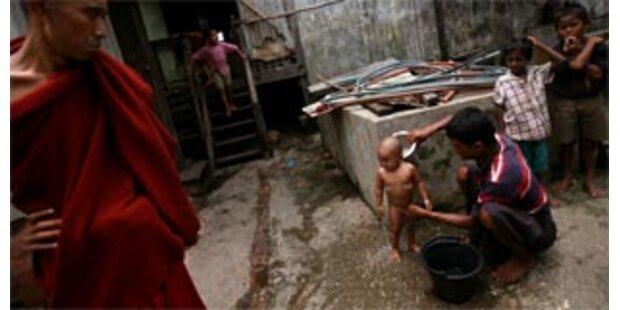 Erste Cholera-Fälle in Burma