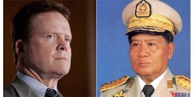 US-Bürger darf aus Burma ausreisen