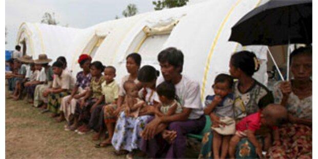 Eine Million Menschen ohne Hilfe in Burma