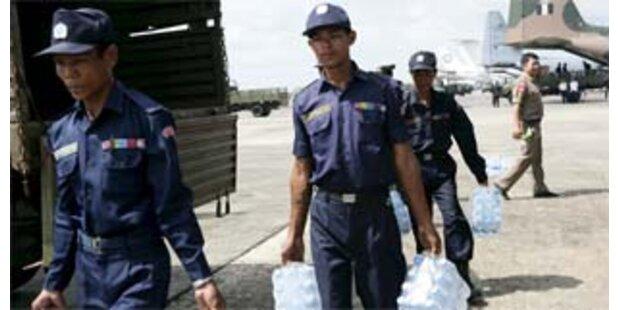 Militärs blockieren weiter Hilfe für Zyklon-Opfer