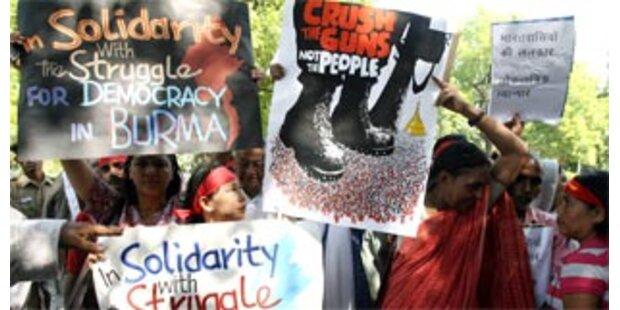 Weltweite Proteste gegen burmesische Junta