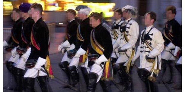 Innsbruck zittert vor Burschenschaftern