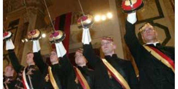 Burschenschaftertreffen sorgt für Aufregung in Linz