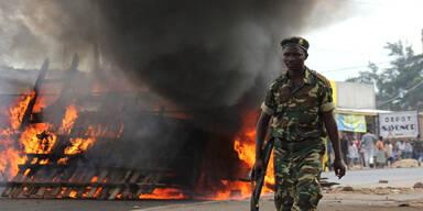 Blutige Proteste in Burundi