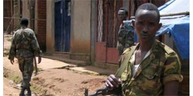 Rebellen in Burundi ließen 238 Kindersoldaten frei