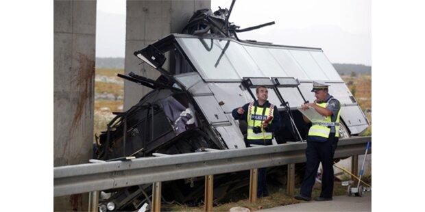 14 Tote bei Bus-Crash in Kroatien