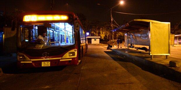 Bus kommt nur einmal im Jahr: keine Passagiere
