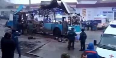Wieder Terroranschlag in Wolgograd