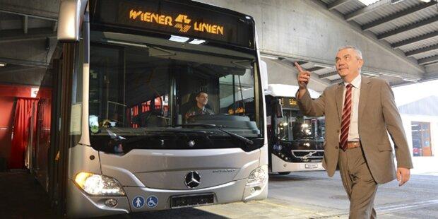 Wiener fahren künftig mit Mercedes-Bussen