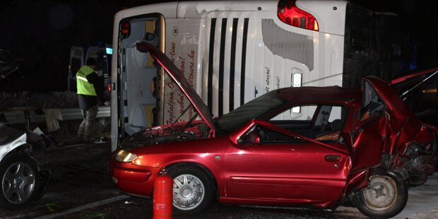 Horror-Crash am Heimweg vom Wiener Christkindlmarkt