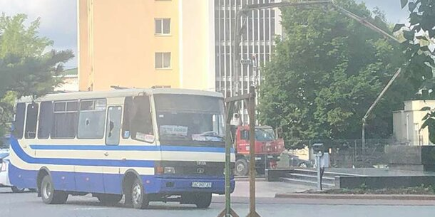 Geiselnahme Bus Ukraine