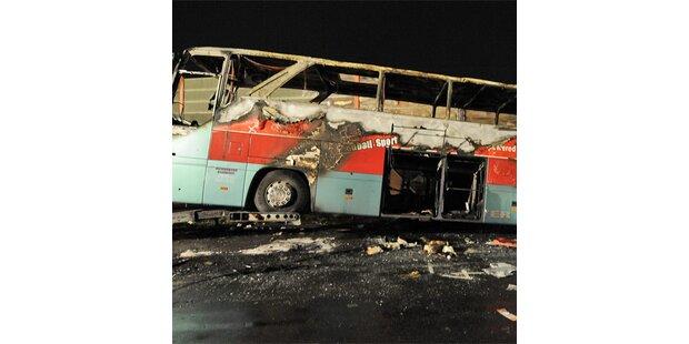 20 Tote bei Busunglück in Deutschland