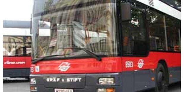 Busfahrer in Graz  von Vorbestraftem ausgeraubt