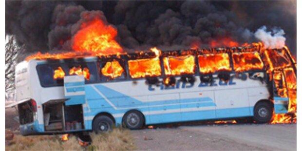 Unruhen in Bolivien verhindern Gipfeltreffen