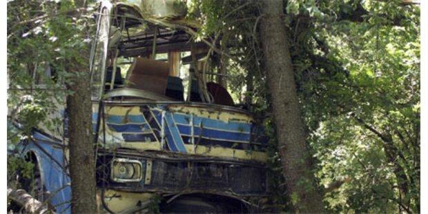 Bus tötet 16 Wanderer in Bulgarien