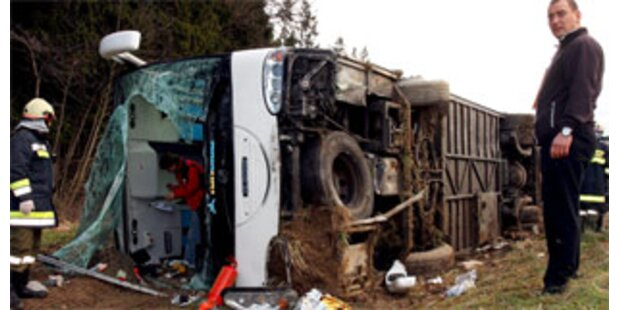 Busunglück in Spanien forderte neun Menschenleben