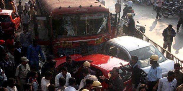 Amokfahrt von Busfahrer - Neun Tote