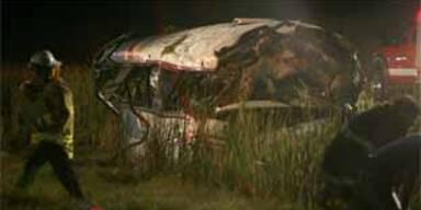 Busfahrt endete mit Horror-Crash