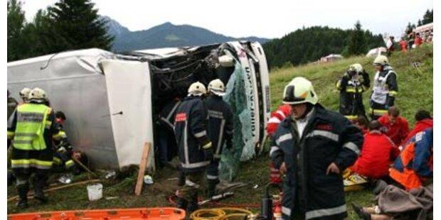 Chronologie der schwersten Busunfälle