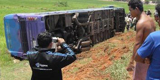 Kärntner stirbt bei Bus-Unfall